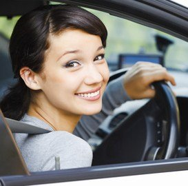 Learners License Front page girl picture